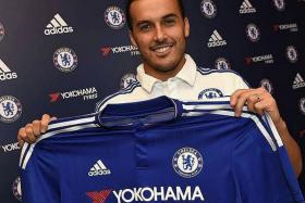 ACE AMIGO: Pedro Rodriguez (above) will be the 10th Spaniard to play for Chelsea in the EPL.
