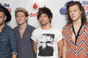 Will One Direction (from left: Liam Payne, Niall Horan, Louis Tomlinson and Harry Styles) return from their long hiatus?