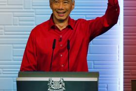 SPEECH: Prime Minister Lee Hsien Loong at yesterday's National Day Rally 2015 at ITE College Central.