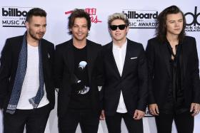 One Direction members (L-R) Liam Payne, Louis Tomlinson, Niall Horan, and Harry Styles.