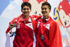 Swimmers Joseph Schooling and Quah Zheng Wen were among the 183 athletes who received $1 million for their SEA Games success.