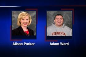 TV journalists Alison Parker and Adam Ward were shot and killed while filming an interview in Virginia on Wednesday (Singapore time).