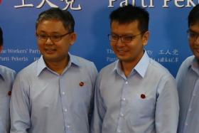 The Workers' Party four candidates Mr Dylan Ng Foo Eng, Mr Koh Choong Yong, Mr Daniel Goh Pei Siong, Mr Redzwan Hafidz Abdul Razak
