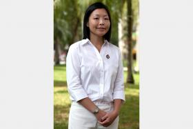 Ms Cheryl Chan is the new face who has been chosen by the PAP to contest Fengshan SMC.