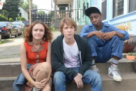 Captivating stars: (Left to right) Olivia Cooke, Thomas Mann and RJ Cyler