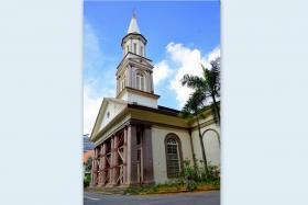 Gazetted as a national monument since 1973, the Cathedral of the Good Shepherd has been under repairs since October 2013.