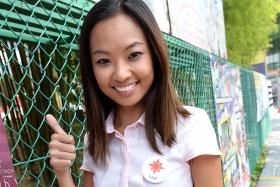 CANDIDATE: Ms Kevryn Lim is an NSP candidate for Sembawang GRC.