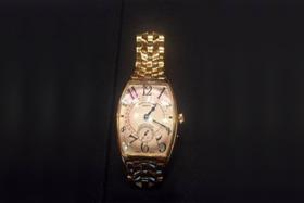 A luxury watch worth about $200,000 was stolen from a hotel locker.