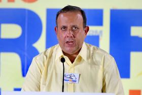 CONFIDENT: Mr Kenneth Jeyaretnam says the members of his team are known for championing citizens' causes.