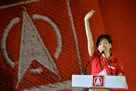 Jaslyn Go from the Singapore Democratic Party.