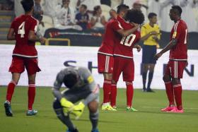 """An """"Islamic"""" medical expert has claimed that paranormal beings could have been behind Malaysia's 10-0 drubbing by the UAE."""