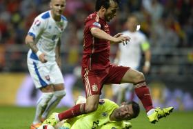 SILVA SPARK: David Silva (above) is the catalyst for Spain's renewed fire.