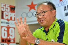 DETERMINED: Singapore Democratic Alliance leader Desmond Lim wants to continue his journey to becoming an MP.
