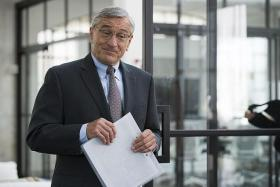 MALE LEAD: Robert De Niro in The Intern.