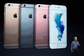 Apple CEO Tim Cook speaks speaks about the new iPhone 6s and 6s Plus in San Francisco, California. Apple Inc.
