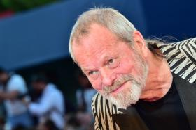 Director Terry Gilliam arrives for the screening of the movie A Bigger Splash presented in competition at the 72nd Venice International Film Festival last Sunday (Sept 6).