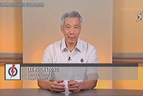 PEOPLE'S ACTION PARTY  Lee Hsien Loong, Secretary-General