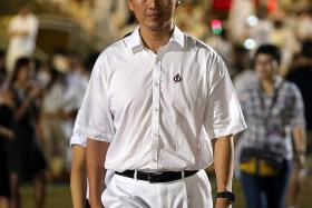 """""""In 2011, after the loss in Aljunied, what went through my mind was what I needed to do to overcome the setback. Now, what preoccupies me are all the things I have to get down to doing to fulfil my responsibility to the residents who have given me their support."""" — Mr Ong Ye Kung (above)"""