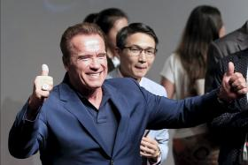 Arnold Schwarzenegger is delighted that he has been chosen as the new host on Celebrity Apprentice.