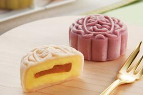 Maxim's is a famous brand of mooncakes from Hong Kong.