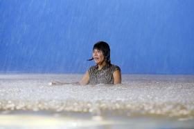 Actress Aileen Tan