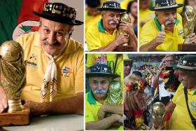 Superfan Clovis Fernandes, who followed the Brazil national team to every World Cup tournament since 1990, died after a nine-year battle with cancer.