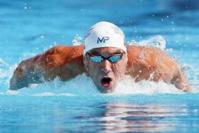He's very dedicated to having a great Olympics, so yes, I think he's going to be very, very fast in Rio. - US swim team director Frank Busch on Michael Phelps (above)
