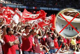 Angry Arsenal supporters are boycotting Costa Coffee after Chelsea striker Diego Costa's antics against their team.