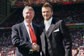 David Beckham has admitted that he wasn't a world-class footballer after Sir Alex Ferguson excluded him from a group of four players that he believed were world class.