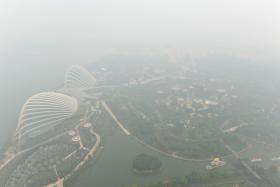 The haze situation on Thursday (Sept 24).