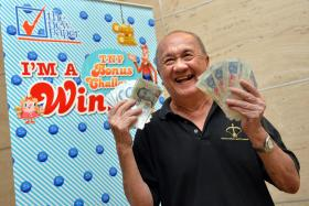 Mr Lee Choon Heng, 72, retiree