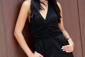This year's Miss Universe Singapore ( above) chosen in closed-door audition