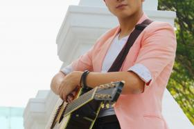 HIT: Hubert Ng's album and single success have exceeded his expectations.