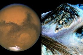 Nasa scientists have discovered evidence of recent water flow on Mars.