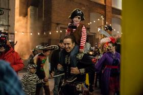FATHER AND SON: Nicolas Cage and Jack Fulton in a scene from Pay The Ghost.