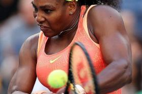 WAIT: Serena Williams (above) should return to competition only next year, says her coach Patrick Mouratoglou.