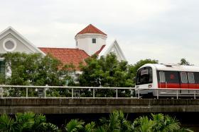 File photo of MRT train.