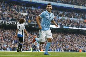 BY THE NUMBERS: 5 - Sergio Aguero is only the fifth player in the Premiership to score five times in one game. The others are Andy Cole, Alan Shearer, Jermain Defoe and Dimitar Berbatov. No one has scored six before.