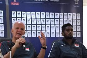 SUSPENDED: Who will replace Hariss Harun (above right) and Safuwan Baharudin in midfield?