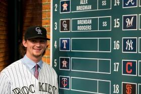 Brendan Rodgers, a baseball player in Colorado, shares the same name as the recently-sacked Liverpool manager.