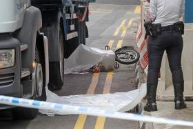 TRAGIC: Mr Chan Kuan Choon is believed to have been on his way to meet his friends when he died in the accident.