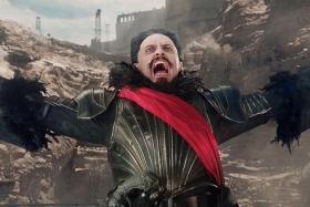 BAD GUY: Hugh Jackman plays vicious buccaneer Blackbeard in the new Peter Pan movie Pan.
