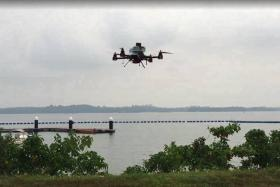A last mile mail and packet drone delivery trial was successfully completed between Lorong Halus and Pulau Ubin.