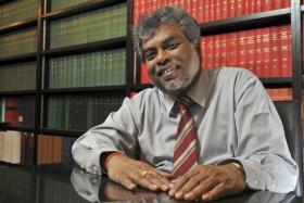 The late Subhas Anandan, known to champion the underdog, had a tender side that came out clearly when he spoke about his family and doing pro bono work.