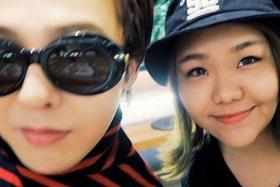 FAVOURITE SINGER: Miss Merissa Tee (left) met her favourite K-pop singer G-Dragon (right) in Seoul and stayed at his crib for two nights in a competition organised by Airbnb.