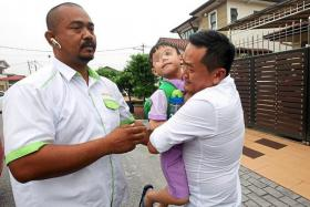 Taxi driver recognised the kidnapped boy, 5, who was wandering on the streets and returned him to his family.