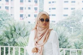"""Young, fashion-conscious Muslim women, a.k.a """"Hijabsters"""", like Atiqah Zulkifli (in picture), have become key fashion influencers, with thousands of followers on social media."""