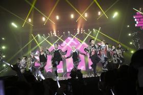 EMPHASIS: K-pop boyband EXO are the main focus of new concert documentary SMTown The Stage.