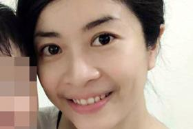 KILLED: It is believed that Ms Lim Siaw Chian (above) was hit by explosions in the laboratory.