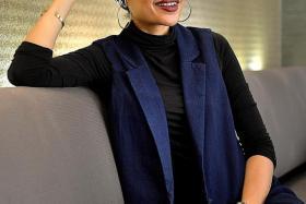 ROLE MODEL: Yuna fronted the Hana Tajima For Uniqlo clothing line campaign in July.